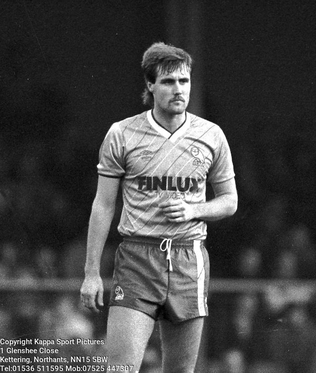 CARL SHUTT SHEFFIELD WEDNESDAY 3/1/1987