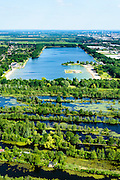Nederland, Utrecht, Maarssen, 10-06-2015; Maarsseveen en Maarsseveense plassen. De plassen zijn ontstaan ten gevolg van zandwinning en in het kader van ruilverkaveling tijdens de wederopbouwperiode.<br /> Former marsh and bog, recreational lake near Utrecht.<br /> <br /> luchtfoto (toeslag op standard tarieven);<br /> aerial photo (additional fee required);<br /> copyright foto/photo Siebe Swart