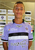 Anthony BELMONTE - 17.09.2013 - Photo Officielle Istres - Ligue 2<br /> Photo : Icon Sport