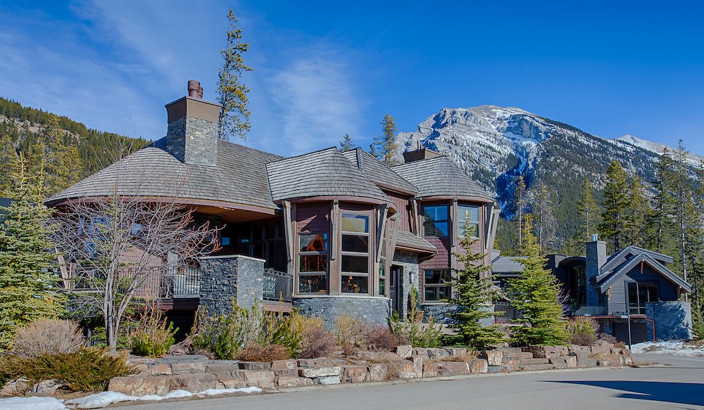 Silvertip Home in Canmore Alberta