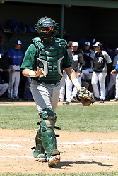 11 May 2013:  Chris Brown during an NCAA division 3 College Conference of Illinois and Wisconsin (CCIW) Pay in Baseball game during the Conference Championship series between the North Park Vikings and the Illinois Wesleyan Titans at Jack Horenberger Stadium, Bloomington IL