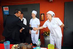 AZIENDA CAVALLERIZZA CONA<br /> VISITA MINISTRO GIAN MARCO CENTINAIO A FERRARA