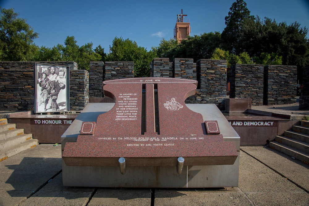 The Hector Pieterson Museum and Memorial is located in Soweto, South Africa.  Hector Pieterson was a thirteen year old who was killed by police who opened fire on student protestors on June 16, 1976.