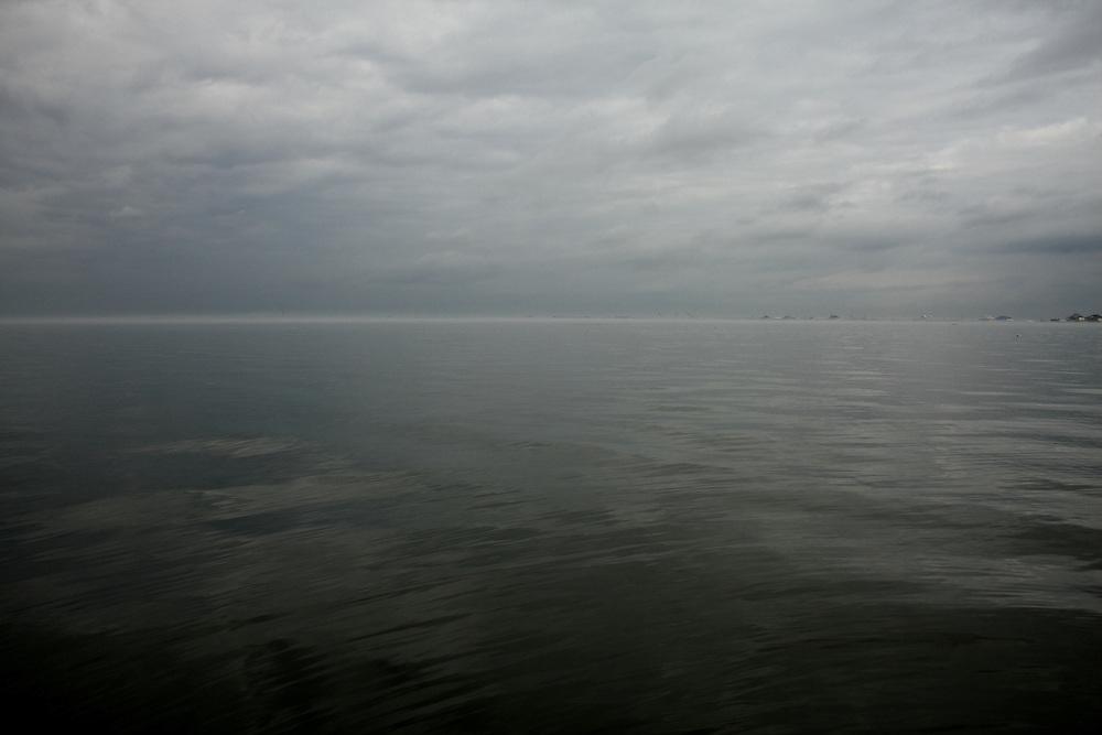 Lake Pontchartrain, Mouth of the Rigolets, Toward Slidell