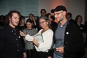 WINNERS; Kovi Konowiecki ; JONI STERNBACH; CLAUDIO RASANO, Private view of the Taylor Wessing Portrait prize, National Portrait Gallery, London.  15 November 2016