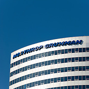 Northrop Grumman building in Rosslyn, Arlington, Virginia, across the Potomac River from Washington DC.