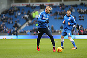 Brighton striker Jiri Skalak (38) during the Sky Bet Championship match between Brighton and Hove Albion and Bolton Wanderers at the American Express Community Stadium, Brighton and Hove, England on 13 February 2016.