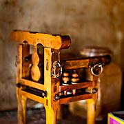 Divining Chair, Children's You Ying Temple, Xipuliao Village, Xigang Township, Tainan County, Taiwan