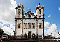 bonfim church in the beautiful city of salvador in bahia state brazil