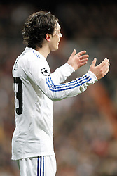 16.03.2011, Stadio Santiago di Bernabeu, Madrid, ESP, UEFA CL, Real Madrid vs Olympique de Lyon, im Bild Real Madrid's Mesut zil reacts during Champions League match. March 16, 2011. . EXPA Pictures © 2011, PhotoCredit: EXPA/ Alterphotos/ Alvaro Hernandez +++++ ATTENTION - OUT OF SPAIN / ESP +++++