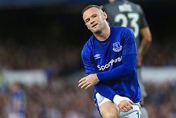 17th August 2017 - UEFA Europa League - Play-Off (1st Leg) - Everton v Hajduk Split - Wayne Rooney of Everton looks dejected - Photo: Simon Stacpoole / Offside.