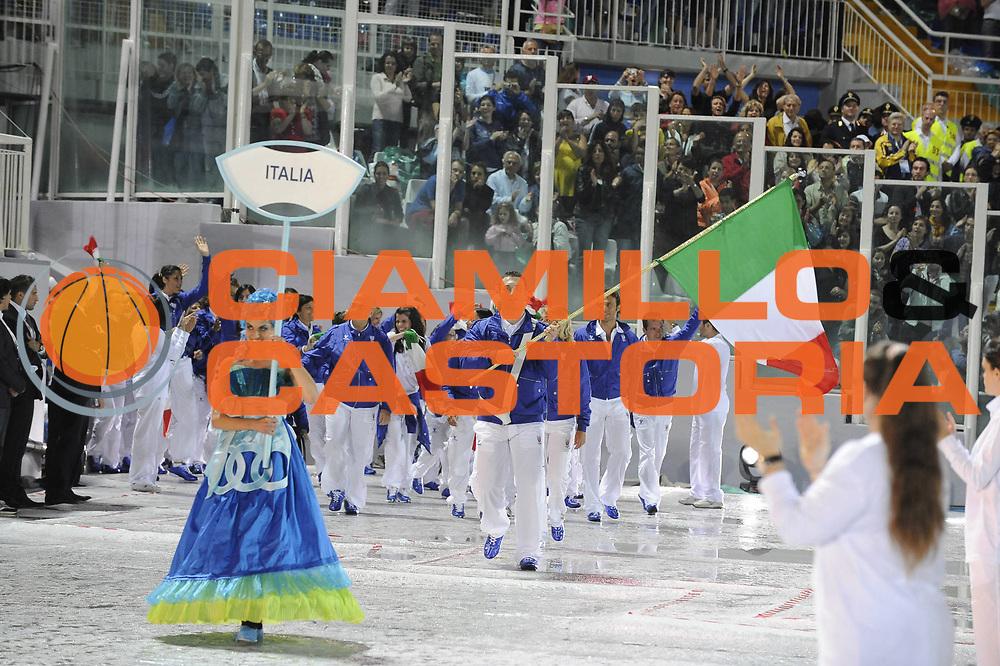 DESCRIZIONE : Pescara Giochi del Mediterraneo 2009 Mediterranean Games Opening Ceremony Cerimonia di Apertura<br />GIOCATORE :  Italia Italy<br />SQUADRA : <br />EVENTO : Pescara Giochi del Mediterraneo 2009<br />GARA : <br />DATA : 26/06/2009<br />CATEGORIA : Ritratto<br />SPORT : <br />AUTORE : Agenzia Ciamillo-Castoria/G.Ciamillo<br />Galleria : Giochi del Mediterraneo 2009<br />Fotonotizia : Pescara Giochi del Mediterraneo 2009 Mediterranean Games Opening Ceremony Cerimonia di Apertura<br />Predefinita :
