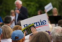Senator Bernie Sanders speaking at the Wolfeboro Inn for the 2020 Presidential run.  Karen Bobotas for the Laconia Daily Sun