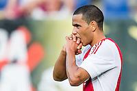 BREDA - NAC - Jong Ajax , Voetbal , Seizoen 2015/2016 , Jupiler league , Rat Verlegh Stadion , 21-08-2015 , Jong Ajax speler Zakaria El Azouzi baalt van enorm gemiste kans