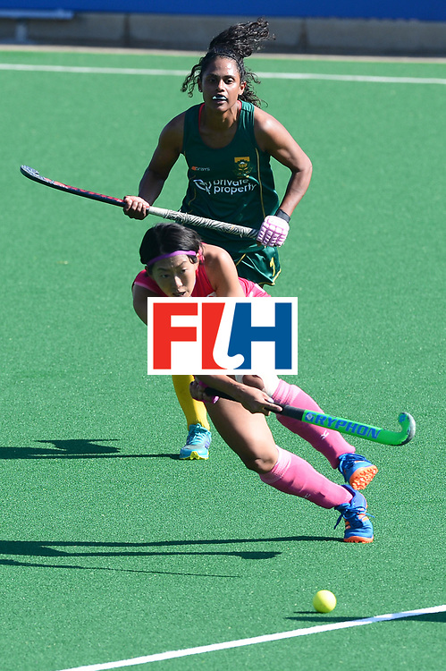 JOHANNESBURG, SOUTH AFRICA - JULY 22: Kana Nomura of Japan during day 8 of the FIH Hockey World League Women's Semi Finals 5th-6th place match between Japan and South Africa at Wits University on July 22, 2017 in Johannesburg, South Africa. (Photo by Getty Images/Getty Images)