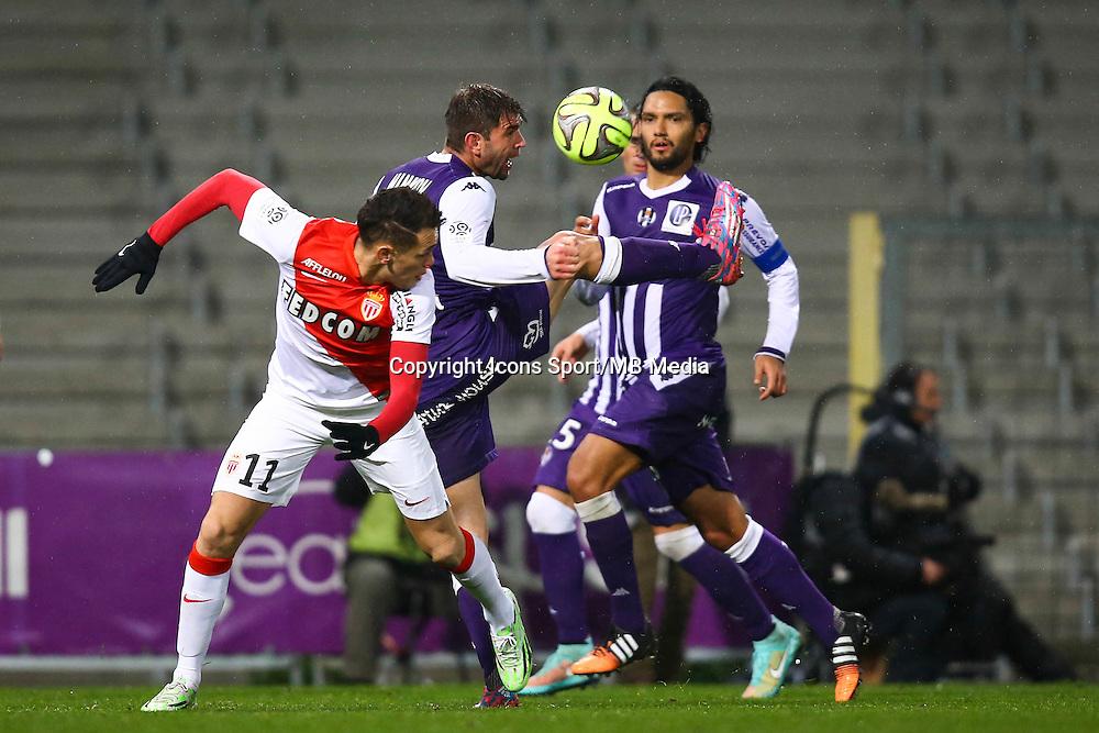 Pavle Ninkov - 05.12.2014 - Toulouse / Monaco - 17eme journee de Ligue 1 -<br />Photo : Manuel Blondeau / Icon Sport