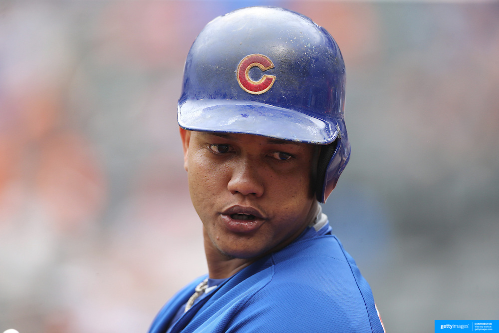 Starlin Castro, Chicago Cubs, batting during the New York Mets Vs Chicago Cubs MLB regular season baseball game at Citi Field, Queens, New York. USA. 2nd July 2015. Photo Tim Clayton