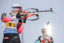 March 16, 2019 - –Stersund, Sweden - 190316 Tarjei Bø of Norway competes in the Men's 4x7,5 km Relay during the IBU World Championships Biathlon on March 16, 2019 in Östersund..Photo: Petter Arvidson / BILDBYRÃ…N / kod PA / 92269 (Credit Image: © Petter Arvidson/Bildbyran via ZUMA Press)