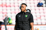 Ibrahim Amadou (24) of Norwich City ahead of the Premier League match between Bournemouth and Norwich City at the Vitality Stadium, Bournemouth, England on 19 October 2019.