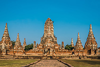 Wat Chai Watthanaram temple Ayutthaya Bangkok Thailand