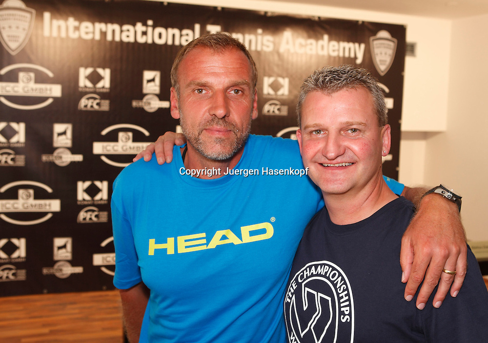 International Tennis Academy Markus Zoecke,ITA,Trainingsbase,Tennisschule, .Camp,Nachwuchs und Talentfoerderung in Oberschleissheim bei Muenchen,.ex Tennisspieler Markus Zoecke und .Wolfgang Sogorski (ICC),.Portrait,