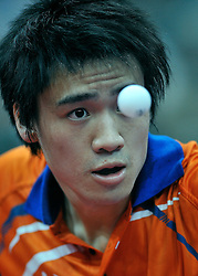 09-05-2011 TAFELTENNIS: WORLD TABLE TENNIS CHAMPIONSHIPS: ROTTERDAM<br /> Wai Lung Chung NED<br /> ©2011-FotoHoogendoorn.nl