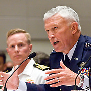 "General Ralph E. Eberhart, Commander, NORAD and United States Northern Command. Panel: Military Response on 9/11. The 9/11 Commission's 12th public hearing on ""The 9/11 Plot"" and ""National Crisis Management"" was held June 16-17, 2004, in Washington, DC."