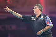 Gary Anderson during the BetVictor World Matchplay Darts 2018 final at Winter Gardens, Blackpool, United Kingdom on 29 July 2018. Picture by Shane Healey.
