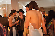 LARA BOHINC; TIM NOBLE; CONRAD SHAWCROSS; VANESSA ARELLE, Art Plus Fashion , Whitechapel Gallery, London. 14 March 2013. Art and fashion celebrated in annual fundraising gala Swarovski Whitechapel Gallery Art Plus Fashion