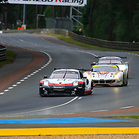 #93, Porsche Motorsport, Porsche 911 RSR, LMGTE Pro, driven by: Patrick Pilet, Nick Tandy, Earl Bamber, 24 Heures Du Mans  2018,  Test, 03/06/2018,