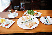 Jersey City, NJ - January 14, 2016: Small plate dishes at Third and Vine, a Cheese and Wine Tavern in the Historic Downtown District. CREDIT: Clay Williams for Edible Jersey.<br /> <br /> <br /> © Clay Williams / claywilliamsphoto.com