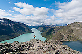 NORWAY: Jotunheimen mountains