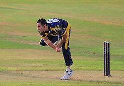 Shaun Tait of Glamorgan bowls.  - Mandatory by-line: Alex Davidson/JMP - 22/07/2016 - CRICKET - Th SSE Swalec Stadium - Cardiff, United Kingdom - Glamorgan v Somerset - NatWest T20 Blast