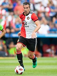 Robin van Persie of Feyenoord during the Pre-season Friendly match between Feyenoord Rotterdam and Levante UD at the Kuip on July 29, 2018 in Rotterdam, The Netherlands