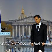 Sarkozy : l'appel à la concorde