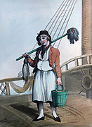 Cabin Boy', 1799.   Print by Thomas Rowlandson (1756-1827). Aquatint.
