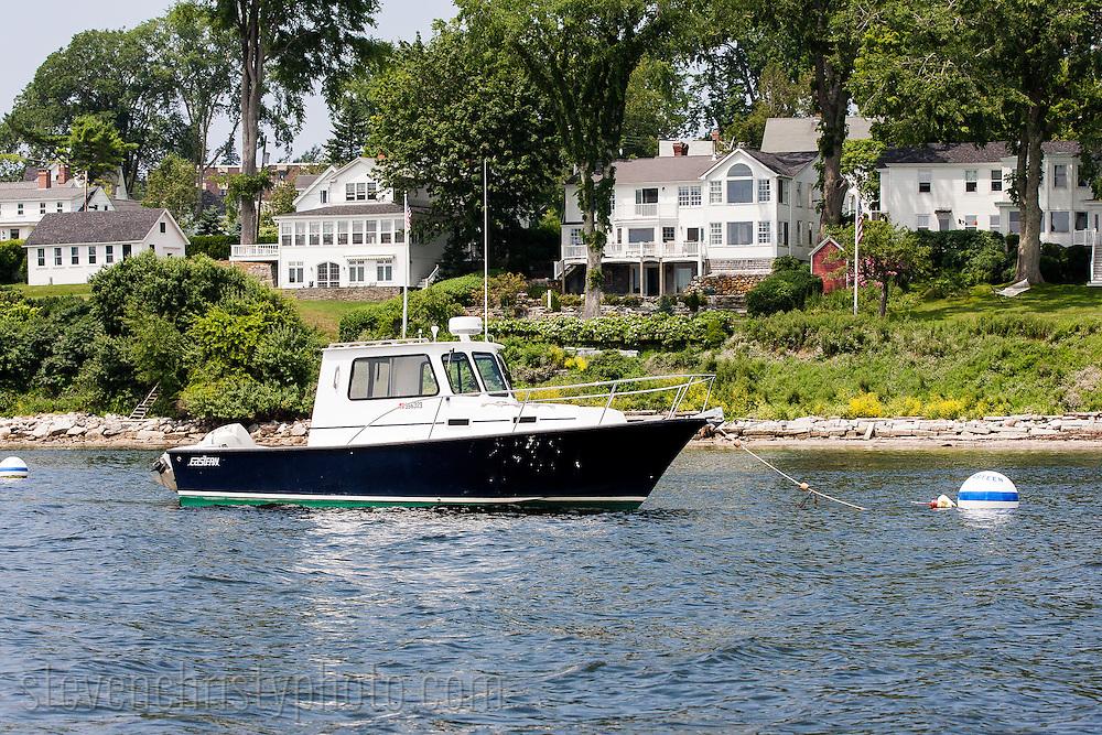 July 18, 2012: Day 8 in Stockton Springs, Castine, Buck's Harbor, Brooklin Harbor, and Pumpkin Island, ME.