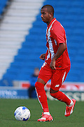 Mariano Ferreira during the Pre-Season Friendly match between Brighton and Hove Albion and Sevilla at the American Express Community Stadium, Brighton and Hove, England on 2 August 2015. Photo by Bennett Dean.