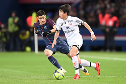January 17, 2018 - Paris, France - 17 YURI BERCHICHE (psg) - 22 Changhoon KWON  (Credit Image: © Panoramic via ZUMA Press)