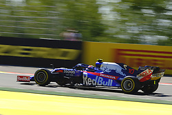 August 30, 2019, Spa Francorchamps, Belgium: Toro Rosso Drive PIERRE GASLY (FRA) in action during the second free practice session of the Formula one Belgian Grand Prix at the SPA Francorchamps circuit - Belgium (Credit Image: © Pierre Stevenin/ZUMA Wire)