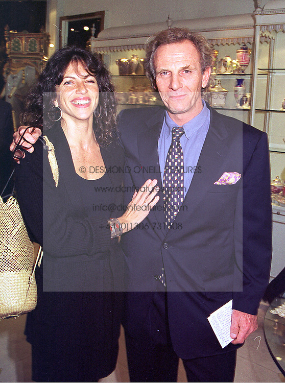 MR & MRS MARK SHAND, he is the brother of Camilla Parker Bowles, at a party in London on 13th October 1998.MKT 114