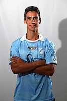 CAMPEONATO ARGENTINO Soccer / Football. <br /> TEMPERLEY Portraits <br /> Bs.As. Argentina. - March 18, 2015<br /> Here Temperley player Santiago Magallan<br /> © PikoPress