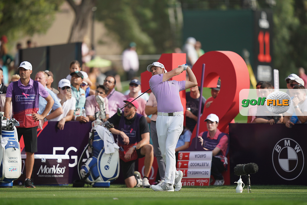 Sergio Garcia (ESP) in action during the second round of the Omega Dubai Desert Classic, Emirates Golf Club, Dubai, UAE. 25/01/2019<br /> Picture: Golffile | Phil Inglis<br /> <br /> <br /> All photo usage must carry mandatory copyright credit (© Golffile | Phil Inglis)