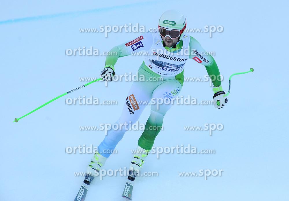 30.01.2016, Kandahar, Garmisch Partenkirchen, GER, FIS Weltcup Ski Alpin, Garmisch Partenkirchen, Abfahrt, Herren, im Bild Bostjan Kline (SLO, 2. Platz) // 2nd placed Bostjan Kline of Slovenia competes during his run of the men's Downhill of Garmisch FIS Ski Alpine World Cup at the Kandahar in Garmisch Partenkirchen, Germany on 2016/01/30. EXPA Pictures © 2016, PhotoCredit: EXPA/ Erich Spiess
