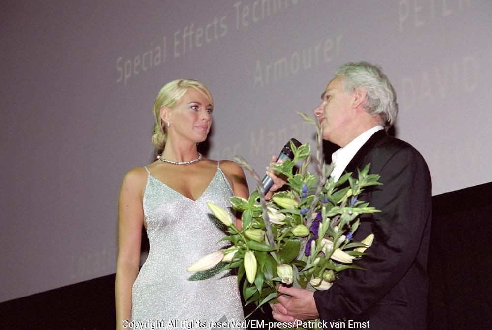 Premiere Tomb Raider 2 in Tuschinski Amsterdam met als speciale Gast Jan de Bondt