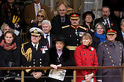 VIPs in the City of London and from the armed services, watch the Lord Mayor's Show at Mansion House. Decorated officers and their families stand alongside the newly-elected Lord Mayor as the procession passes-by. The new Mayor's procession consists of a 3-mile, 150-float parade of commercial and military organisations going back to medieval times. This is the oldest and longest civic procession in the world that has survived the Plague and the Blitz, today one of the best-loved pageants. Henry Fitz-Ailwyn was the first Lord Mayor (1189-1212) and ever since, eminent city fathers (and one woman) have taken the role of the sovereign's representative in the City - London's ancient, self-governing financial district. The role ensured the King had an ally within the prosperous enclave.