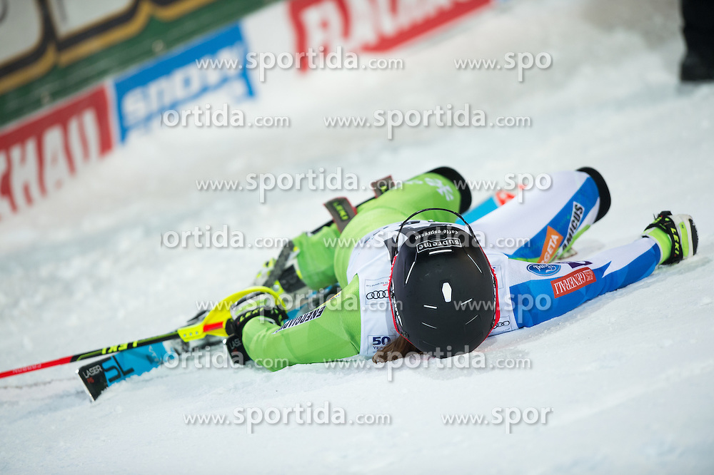 Marusa Ferk (SLO) during the 7th Ladies' Slalom of Audi FIS Ski World Cup 2016/17, on January 10, 2017 at the Hermann Maier Weltcupstrecke in Flachau, Austria. Photo by Martin Metelko / Sportida