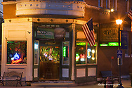 Duffys Irish Tavern of Utica Illinois at dusk