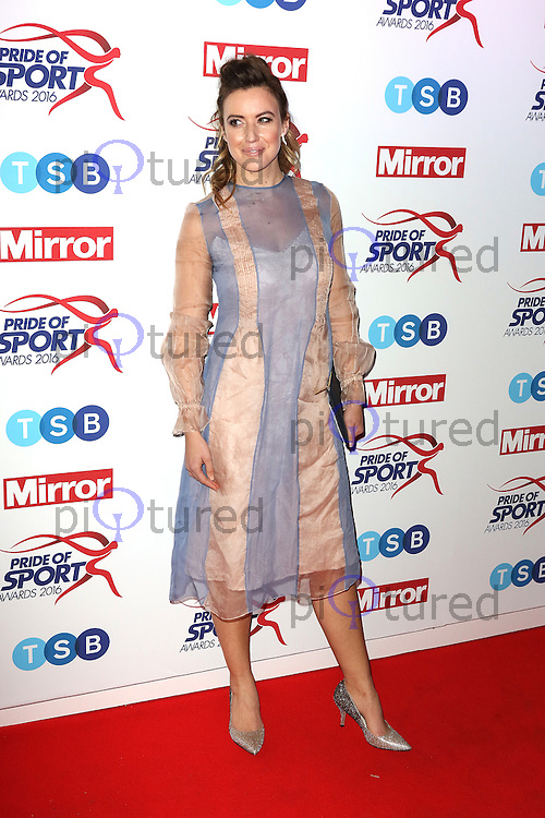 Charlie Webster, Pride of Sport Awards, Grosvenor House Hotel, London UK, 07 December 2016, Photo by Richard Goldschmidt