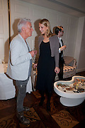 NICKY HASLAM; LADY GABRIELA WINDSOR, Book launch party for the paperback of Nicky Haslam's book 'Sheer Opulence', at The Westbury Hotel. London. 21 April 2010